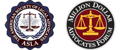 ASLA and Million Dollar Advocates Forum Of Personal Injury Lawyers