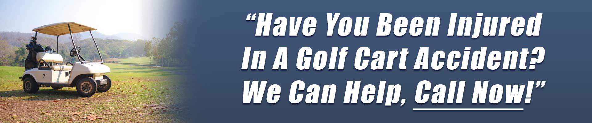 Phoenix Golf Cart Accident Attorney