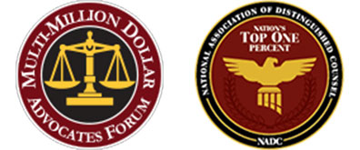 Multimillion Dollar Advocates and NADC Top One Percent Of Personal Injury Lawyers